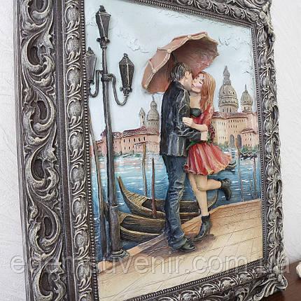Панно Пара под зонтом цветное, фото 2