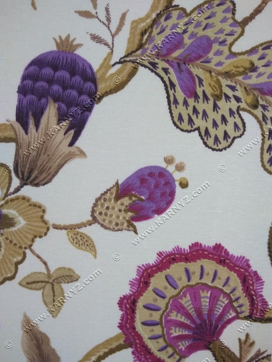 Рулонные шторы Богема фиолетовый