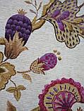 Рулонные шторы Богема фиолетовый, фото 2