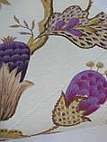 Рулонные шторы Богема фиолетовый, фото 3