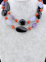 Украшения для женщин из натуральных камней - ожерелья, бусы, комплекты