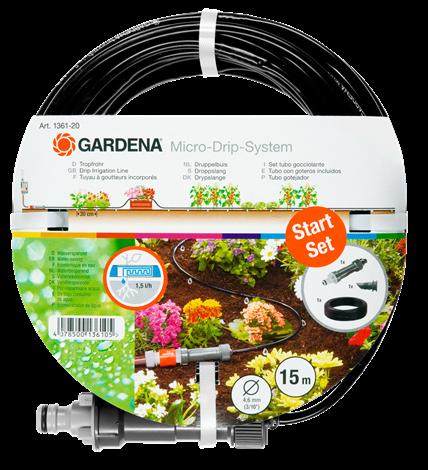 Шланг дождеватель 4,6 мм 15 м Gardena