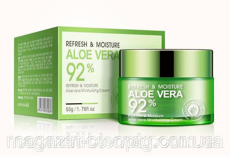 Увлажняющий крем-гель BIOAQUA Aloe Vera 92 %