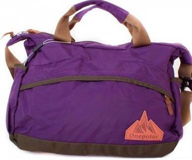 Женская удобная спортивная сумка через плечо ONEPOLAR (ВАНПОЛАР) W5266-violet