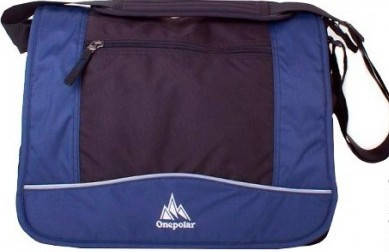 Прочная мужская сумка на плечо Onepolar W308-blue синяя
