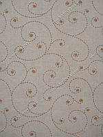 Рулонные шторы Шик кремовый и белый