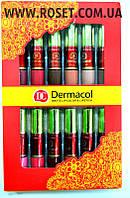 Набор жидких матовых помад – Dermacol Matte Lipcolor Lipstick 12 pcs