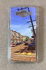 Пластиковый чехол для Samsung Galaxy J5 2015 (J500) (Road)