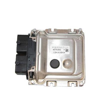 Контроллер системы управления двигателем Bosch 11194-1411020-20, фото 2