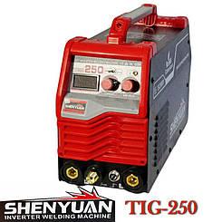 Аргонно-дуговой сварочный аппарат «SHYUAN» TIG-250 / MMA