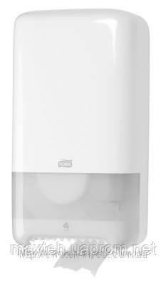 Диспенсер для туалетной бумаги в миди рулонах Mid-size на 2 рулона