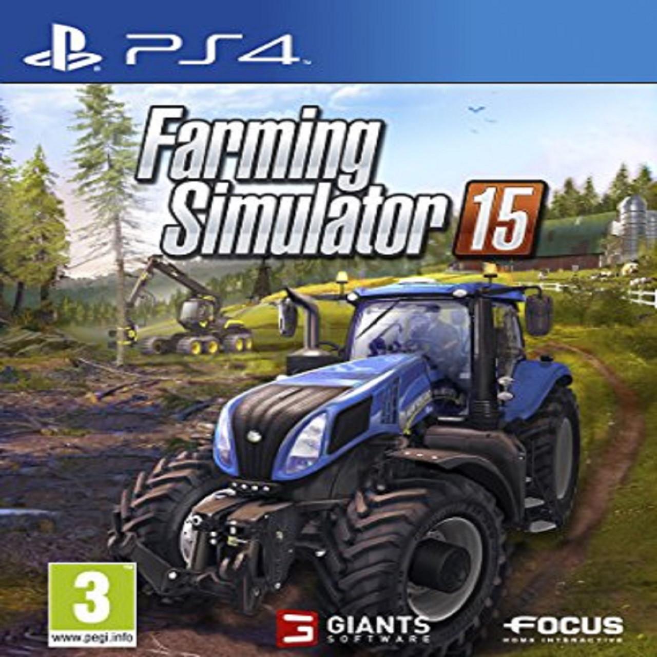 Farming Simulator 2015 ENG PS4 (Б/В)