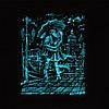 Панно Пара под зонтом светящееся, фото 2