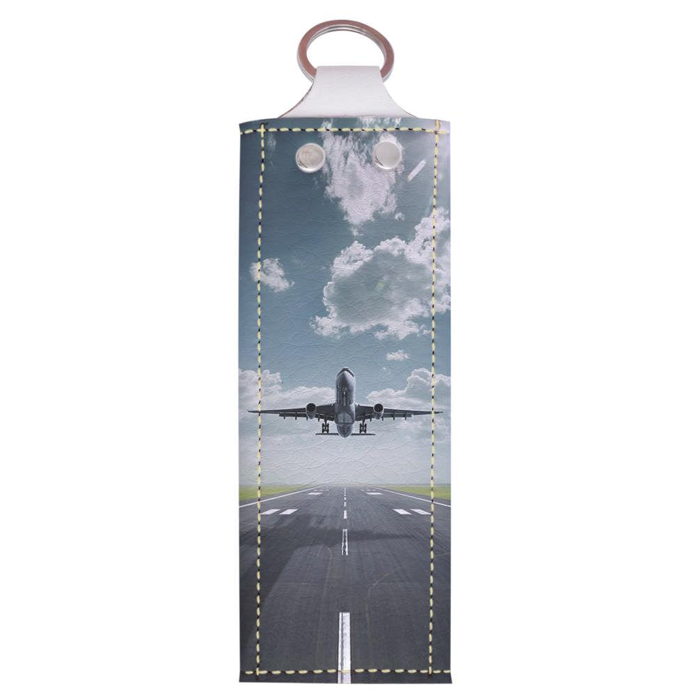 Ключница  v.1.0. Fisher Gifts 40 Самолет (эко-кожа)