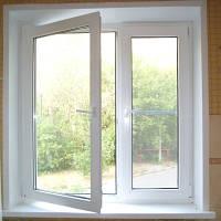 Окно стандартное в хрущевку за 2790грн. Акция Римская штора в подарок!