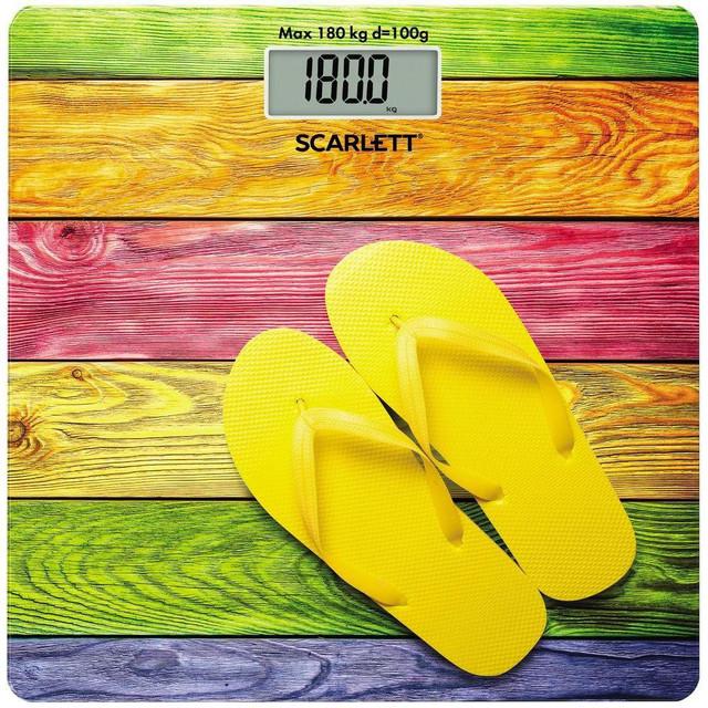 Весы напольные Scarlett SC-BS33E057