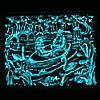 Панно Пара влюбленных в лодке светящееся, фото 2