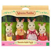 """Игровой набор Sylvanian Families """"Семья шоколадных Кроликов""""   4150"""