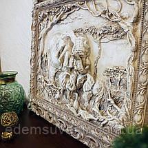 Панно Семья слонов светящееся, фото 3