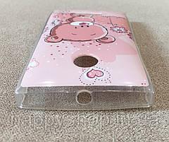 Силиконовый чехол для Nokia Lumia 435/532 (Bear), фото 2
