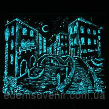 Панно Венеция мостик светящееся, фото 3