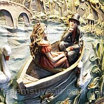 Панно Пара влюбленных в лодке цветное, фото 3
