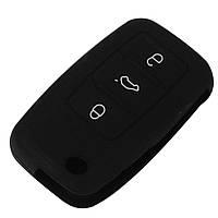 Силіконовий чохол на ключ для авто VW Polo, Golf Passat Sharan Seat cordoba, ibiza leon Skoda oktavia superb