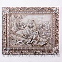 Панно Пара волков светящееся, фото 3