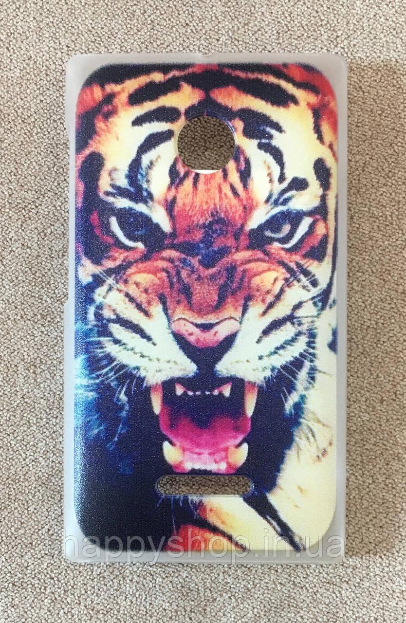 Пластиковый чехол для Nokia Lumia 435/532 (Tiger)