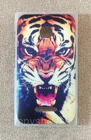 Пластиковый чехол для Nokia Lumia 435/532 (Tiger), фото 2