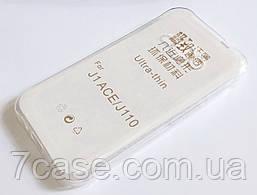 Чехол для Samsung Galaxy J1 Ace J110 силиконовый ультратонкий прозрачный
