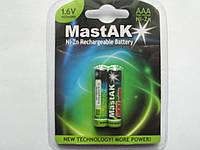 Аккумулятор*  MastAK NiZn R03/АAA 900mWh