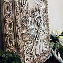 Панно Девушка с лошадью светящееся, фото 2