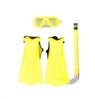 Набор для плавания (жёлтый) 3402