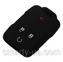 Силиконовый чехол для ключа Chevrolet GMC Cadillac Silverado Sierra 4 кнопки Все цвета в наличие