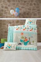 Комплект постельного белья ТМ Luoca Patisca детский FLYİNN 100x150/2x35x45