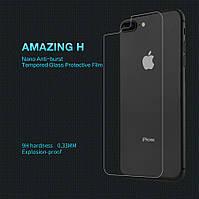 Защитное стекло Nillkin iPhone 7 Plus / 8 Plus заднее (Back cover) (Айфон 7 Плюс)