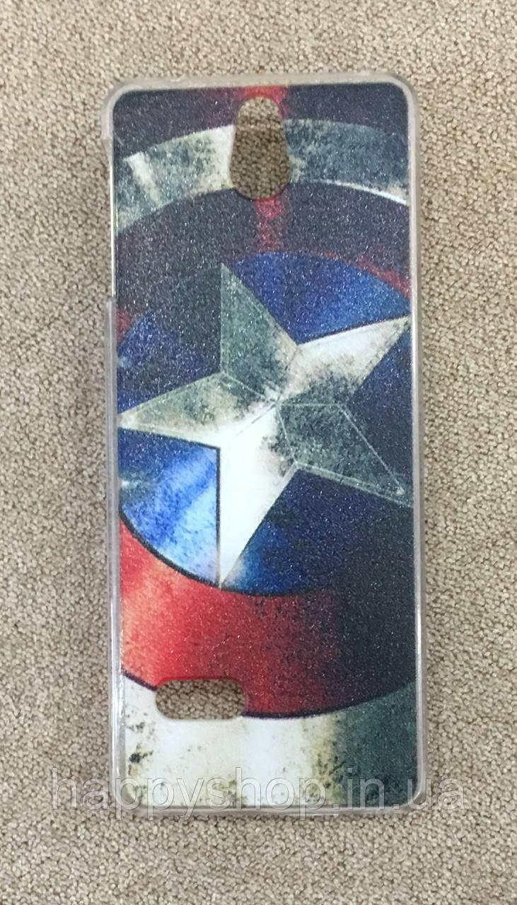 Пластиковый чехол для Nokia Lumia 515 (Star)