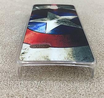 Пластиковый чехол для Nokia Lumia 515 (Star), фото 2