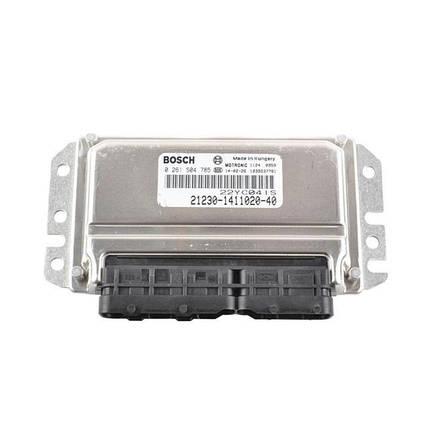 Контроллер системы управления двигателем Bosch 21230-1411020-40, фото 2