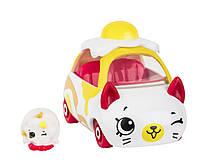 Мини-машинка SHOPKINS CUTIE CARS S3 ОМЛЕТОМОБИЛЬ с мини-шопкинсом(57110)