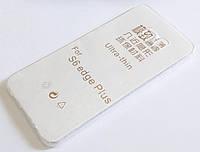 Чохол для Samsung Galaxy S6 Edge Plus G928 силіконовий ультратонкий прозорий