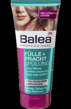 бальзам для тонких волос Balea Professional Fülle Pracht 200 мл германия