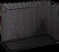 Короб для підвісних файлів, металевий, чорний