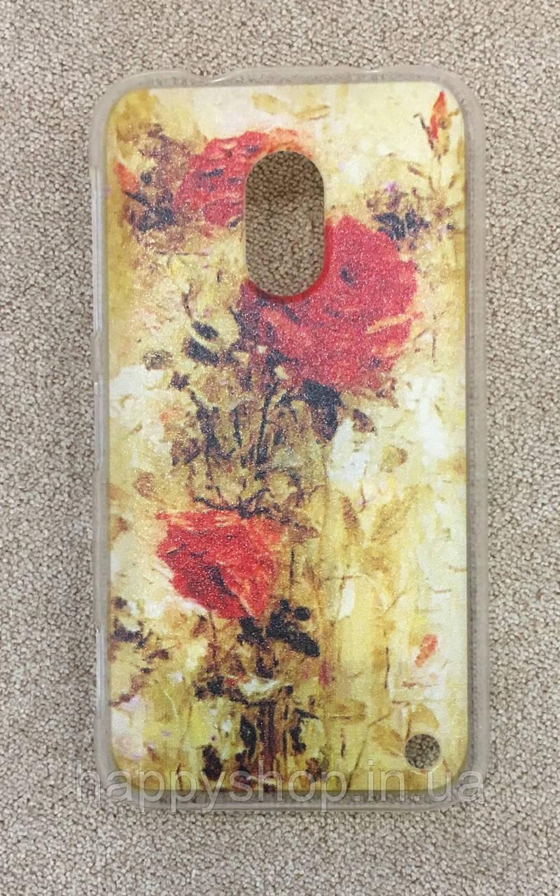 Пластиковый чехол для Nokia Lumia 620 (Rose)