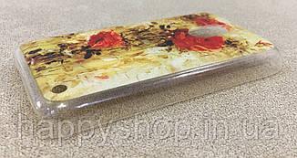 Пластиковый чехол для Nokia Lumia 620 (Rose), фото 3
