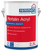 Водная матовая краска для древесины и других оснований ROFALIN ACRYL