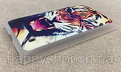 Пластиковый чехол для Nokia Lumia 525 (Tiger), фото 3