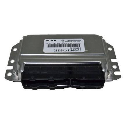 Контроллер системы управления двигателем Bosch 21230-1411020-30, фото 2