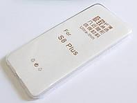 Чехол для Samsung Galaxy S8 Plus G955 силиконовый ультратонкий прозрачный